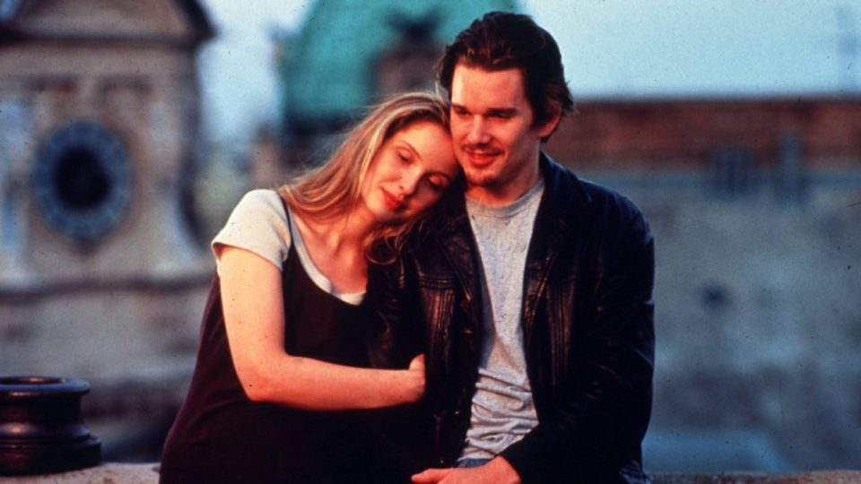 Before sunrise Hawke Delpy